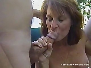 Vintage amateur orgy with two couples down be transferred to backyard