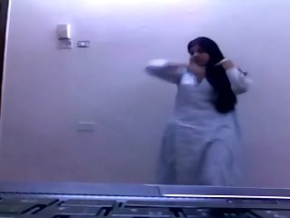 Indian Teen Madiha Khan By oneself Compilation 1