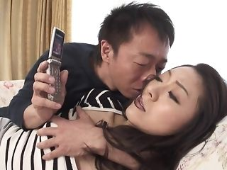 Appetizing chinese hotty gets wooly snatch frigged and gripped sexual congress video