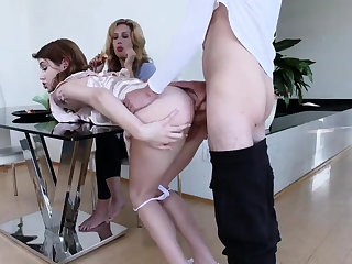 Sex during family dinner and italian The Sex Crazed