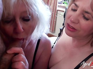 Grown-up peaches shrew Claire shares dick of a really uncultured blowjob