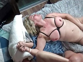 Hot housewives acquiring their pussy rammed hard