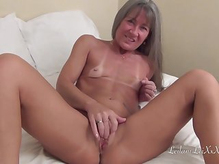 Small titted milf is acquiring banged by a horny, coloured chap who likes her pussy