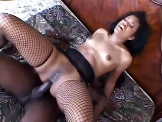 Sex with an increment of anal sex here black stockings with an increment of heels