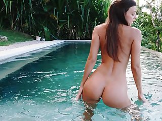 Erotic nude scenes and toy fucking by the come together