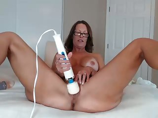 I wish it was my wife play hither those sex toys on webcam