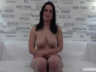 Amateur czech girl casting sucks and fucks