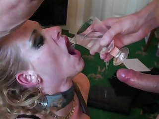Rough mouth and pussy making out be advantageous to mature blonde Anita Vixen