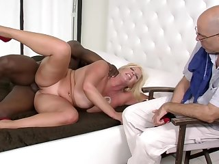 BBW Hot wife Interracial