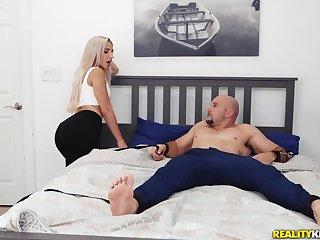 Premium oral fun on high her sister's boyfriend big dick